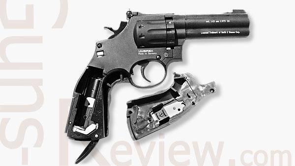 SMITH&WESSON 586, Пневматический Револьвер UMAREX от Guns-Review