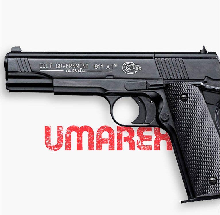 Colt government 1911 Umarex Пневматический пистолет от Guns-Review