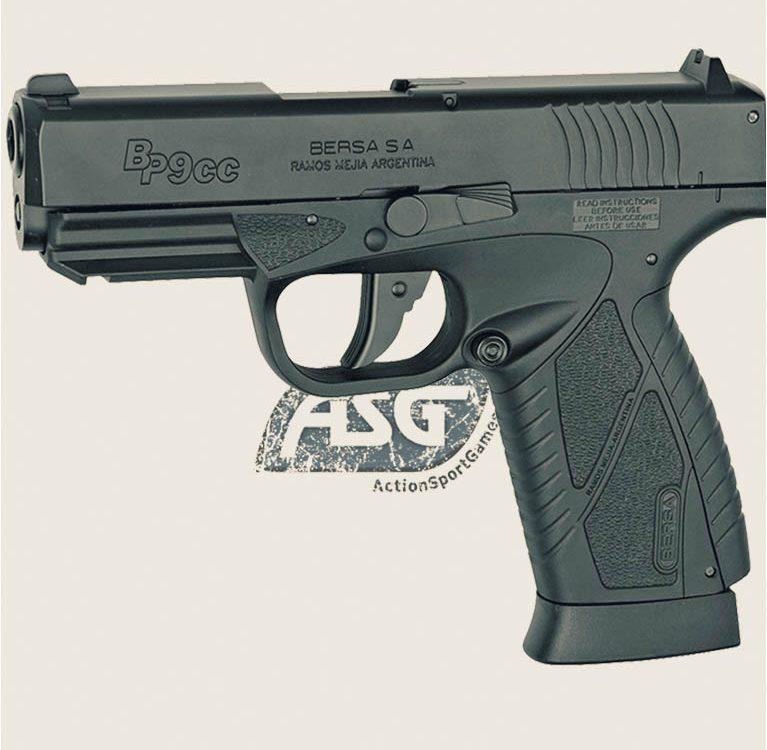 Bersa BP9CC, ASG - Пневматический пистолет от Guns-Review.com