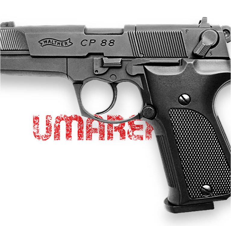 Walter CP88 Umarex - Пневматический пистолет от Guns-Review