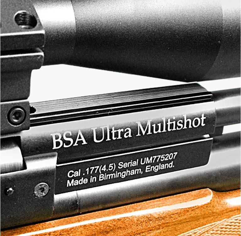 BSA Ultra Multishot Пневматическая ПСП винтовка от Guns-Review Видеообзор