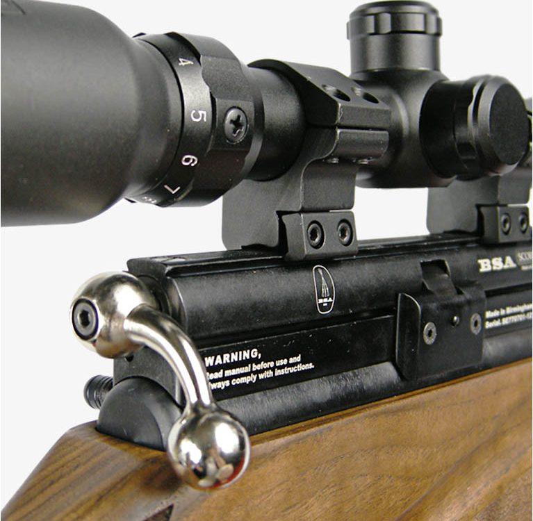 BSA Scorpion SE на Guns-Review - Пневматика с предварительным накачиванием Обзор Guns-Review