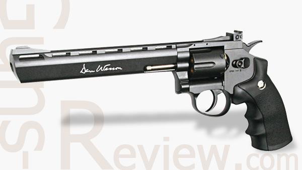 """Револьверы DAN WESSON 6"""" и 8"""", ASG"""
