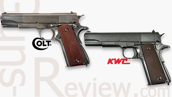 COLT М1911A1, KWC (KMB-76AHN) Обзор пневматического пистолета от Guns-Review