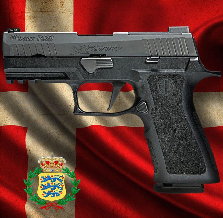 Sig Sauer P320 X-Carry выбран основным пистолетом Вооруженных сил Дании