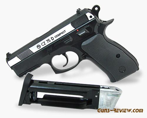 CZ-75D Compact - Пневматический пистолет ASG от Guns-Review