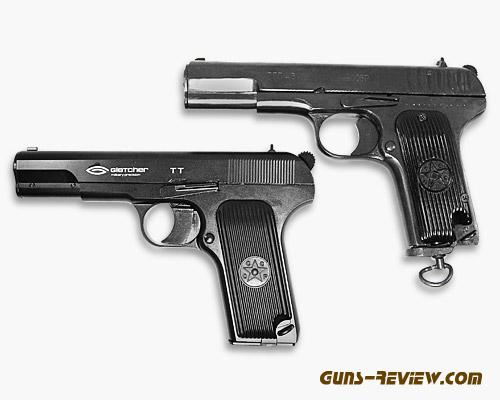Сравнение СО2 пистолетов ТТ СОБР и TT Gletcher от Guns-Review