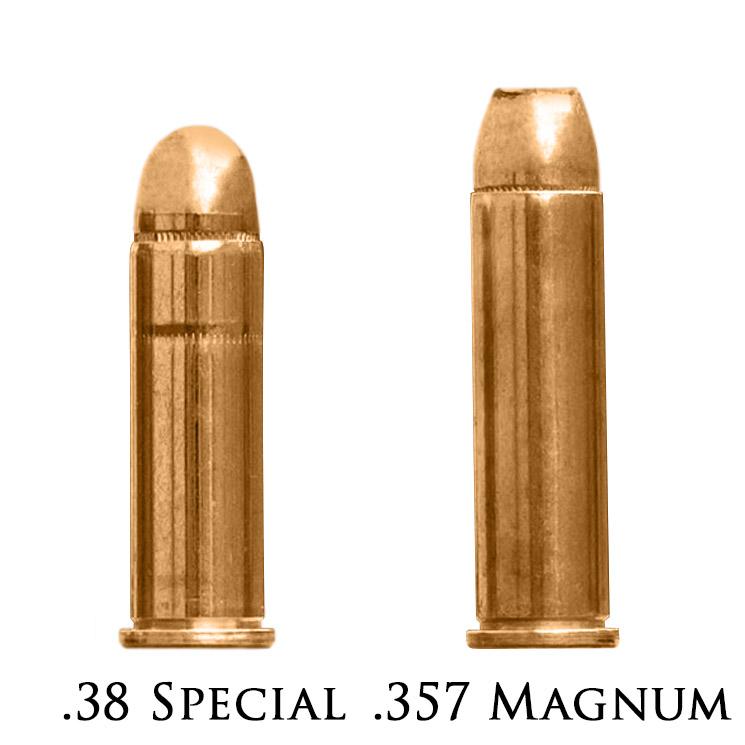 Патроны калибра 38 Special и 357 Magnum