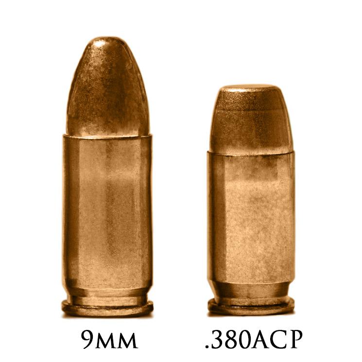 Патроны 9mm и 380 ACP