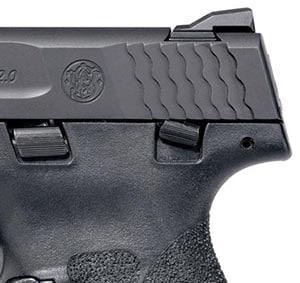 Рычаг предохранителя на пистолете