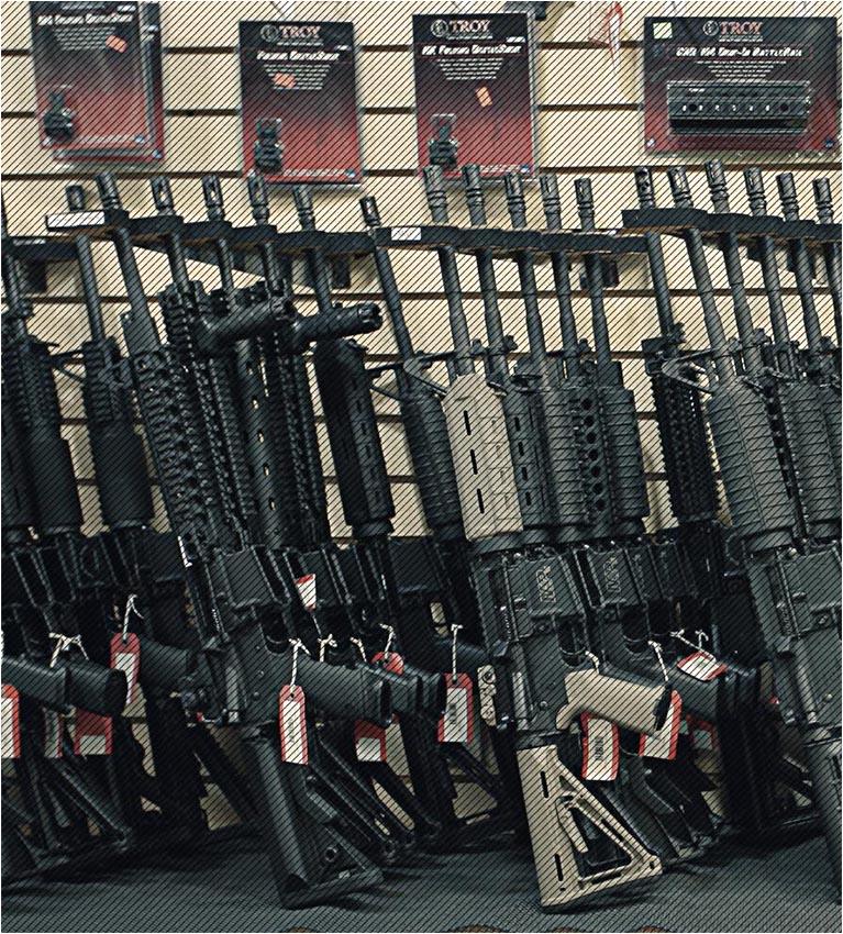 Отчет NSSF: Американцы владеют 423 миллионами единиц огнестрельного оружия